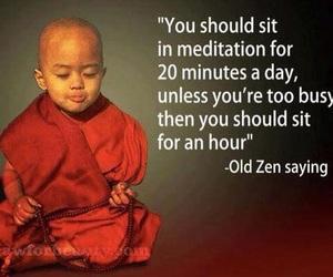 meditation and saying image