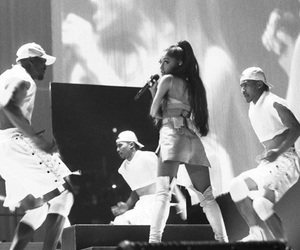ariana grande, dwt, and dangerous woman tour image