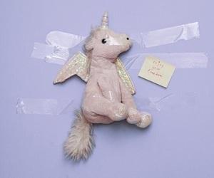 unicorn, pastel, and purple image