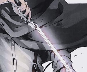 anime, shingeki no kyojin, and attack on titan image