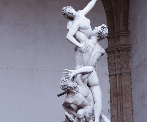 art, florence, and statue image