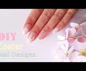 easter, nail art, and video image