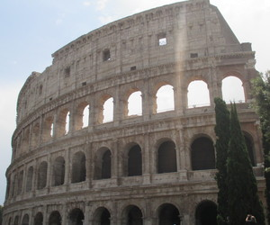 Coliseum, holiday, and summer image
