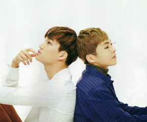 exo, kai, and xiumin image
