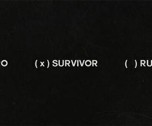 hero, survivor, and black image