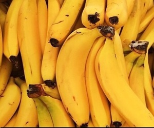 banana, yellow, and fruit image
