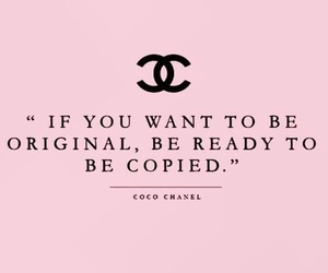 chanel, quotes, and wallpaper image