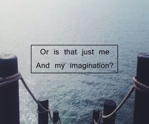 imagination, Lyrics, and quote image