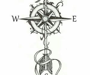 arrow and tattoo image