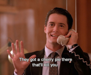 Twin Peaks, dale cooper, and 90s image