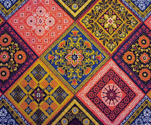 bohemian, colors, and mosaic image