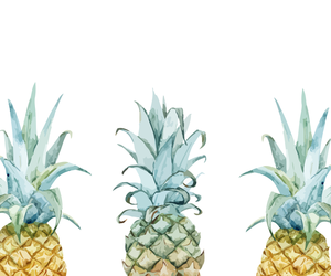 wallpaper, hd, and pineapples image