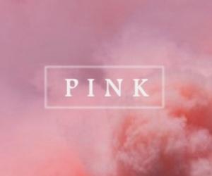 colours, pink, and smoke image