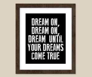 aerosmith, Dream, and Lyrics image