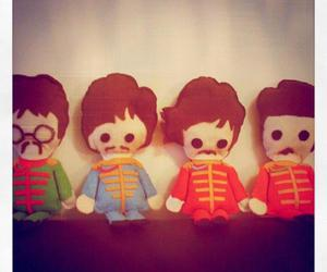beatles, ringo star, and george harrison image