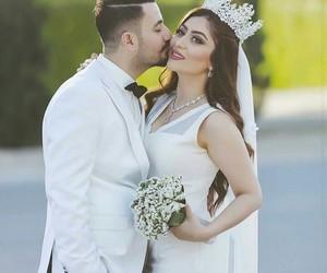 bride, wedding, and حُبْ image