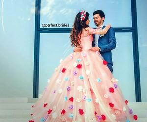 bride, wedding, and kurd image