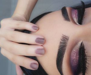 eyebrows, nails, and cosmetics image