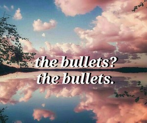 aesthetic, background, and bullet image