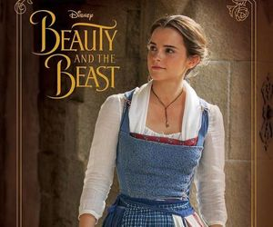 emma watson, as belle, and in beauty and the beast image