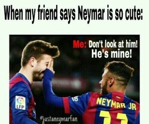 neymar, cute, and Barca image