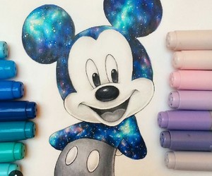 drawing, disney, and art image