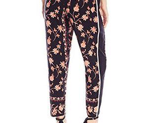 floral fashion, floral pants fashion, and floral pants image