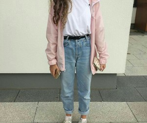 90's, jeans, and fashion image