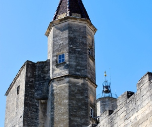 chateau, ete, and uzes image