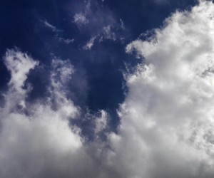 clouds, nature, and bluesky  image