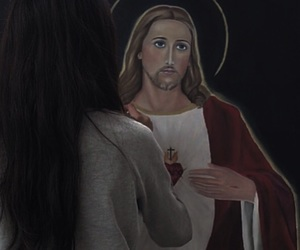 art, boys, and Christ image