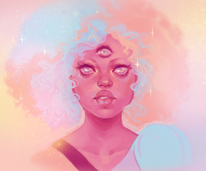 steven universe and garnet cotton candy image