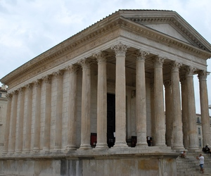 architecture, Nimes, and maison carree image
