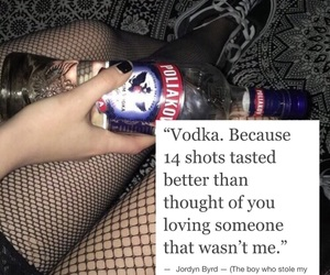 alcohol, best friend, and breakup image