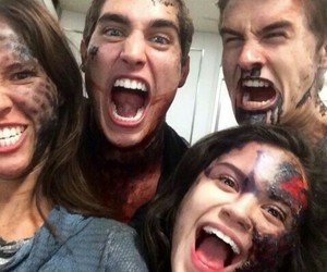 teen wolf and chimera image