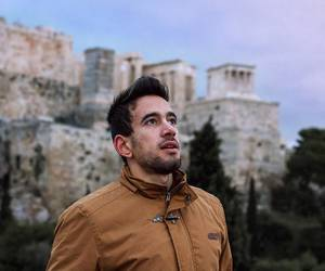 acropolis, Athens, and guy image
