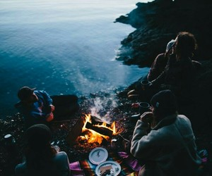 travel, friends, and nature image