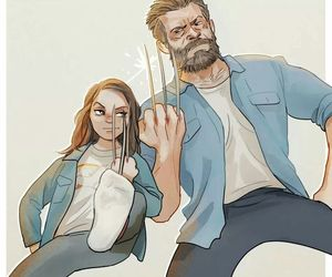 x-23 and x-men image
