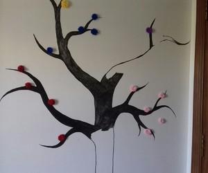 diy, drawing, and tree image