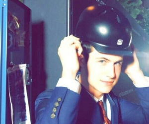 13 reasons why, helmet, and dylan minnette image