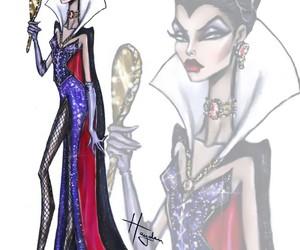 disney, evil queen, and art image