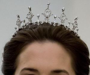 Queen, royal, and tiara image