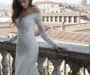 fashion, sexy, and gown image
