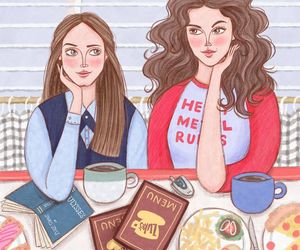 art, gilmore girls, and series image