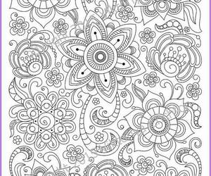 flowers and mandala image