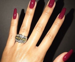 hand, red, and ring image