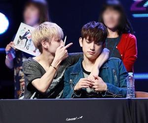 got7, jinyoung, and markjin image