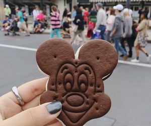 chocolate, disney, and food image