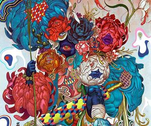fine art, James Jean, and japanese image