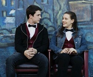 13 reasons why, hannah baker, and clay jensen image